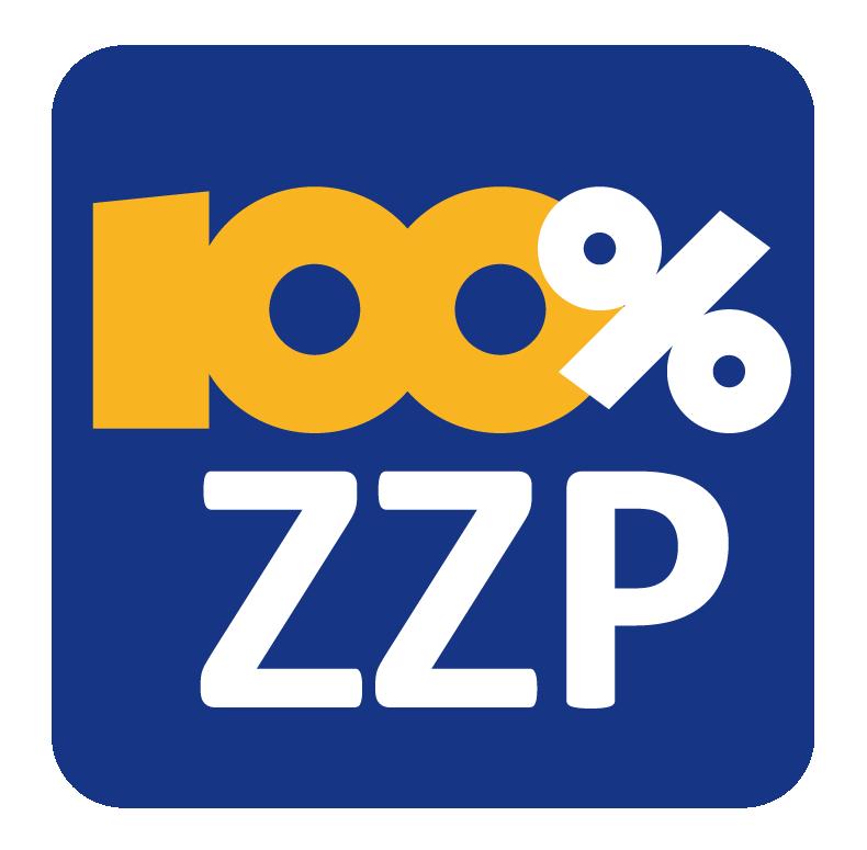 Toon de freelancers bovenaan die gebruik maken van het 100% ZZP pakket